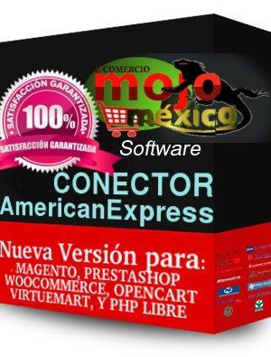 Pasarela de pago AmericanExpress 3D Opencart