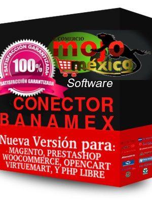 Pasarela de pago Banamex 3D SHA256 Magento
