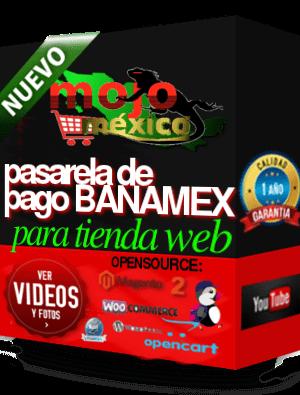 Pasarela de Pago Banamex HPP MagentoCE