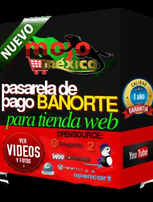 Pasarela de Pago Banorte Cybersource +3D+PW2 MagentoCE