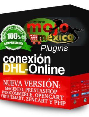 Conector DHL Emision Guia Online Prestashop