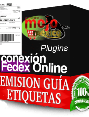 Conector Fedex Guia extension