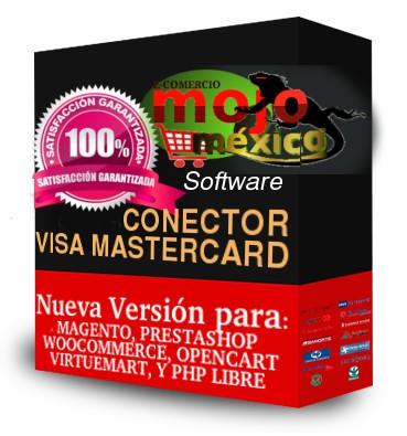 Pasarela de pago Visa Mastercard Magento2