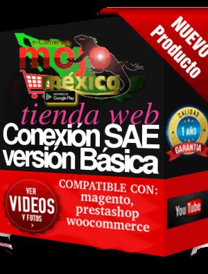 Conector SAE-aspel con Tienda Web Basico