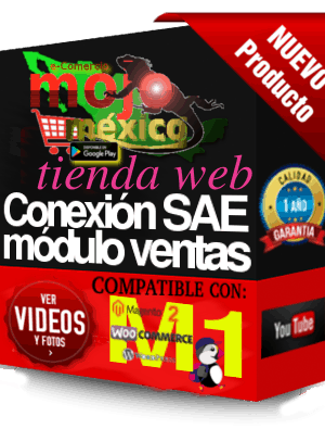 Conector Woocommerce-SAE Modulo1 Ventas