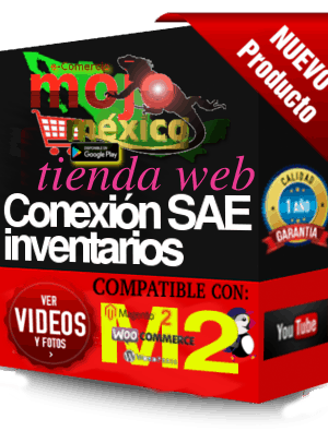Conector Woocommerce -SAE Modulo2-Inventarios