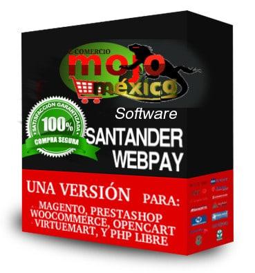 Pasarela de pago Santander 3D Prestashop