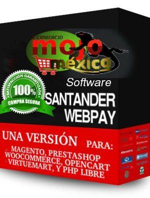 Pasarela de pago Santander 3D Woocommerce WP