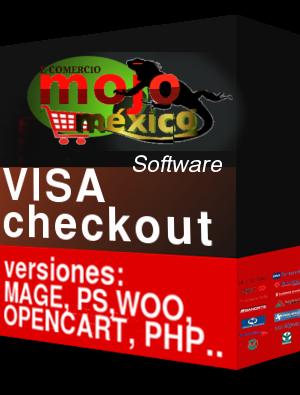 Pasarela de Pago VISA Checkout MagentoCE1
