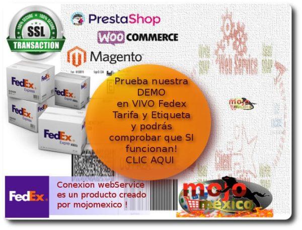 Fedex Tarifador Versión PHP
